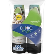 Dixie Perfect Touch Hot Cup 12 Oz. 26 Ct.