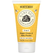 Burt's Bees Baby Bee Cream-To-Powder Diaper Cream and Baby Powder, 4 oz.