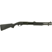 Remington 870 Police 12 Ga. 18 in. Barrel 6 Rnd Shotgun Black
