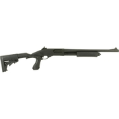 Remington 870 Police 12 Ga. 3 in. Chamber 18 in. Barrel 4 Rnd Shotgun Black