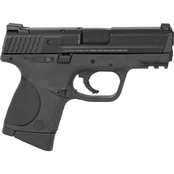 S&W M&P Compact 9mm 3.5 in. Barrel 12 Rnd 3 Mag NS Pistol Black