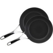 Anolon Nouvelle Copper Hard-Anodized Nonstick Twin Pk. French Skillets