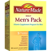Nature Made Daily Men's Pack Vitamin Supplement Packets 30 Pk.