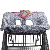 Boppy Park Gate Pink Shopping Cart Cover
