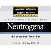 Neutrogena Original Formula Fragrance Free Facial Bar, 3.5 oz.