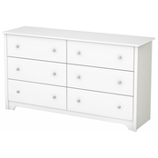 South Shore Vito Collection Six Drawer Dresser