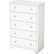 South Shore Vito Collection Five Drawer Chest