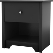 South Shore Vito Collection One Drawer Nightstand