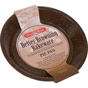 Granite Ware Better Browning Round Pie Pan, 9 in.