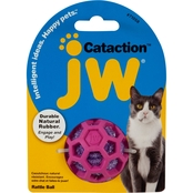 jw Cataction Rattle Ball Cat Toy