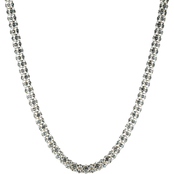Anne Klein Crystal Tubular Collar Necklace