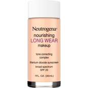 Neutrogena Nourishing Long Wear Liquid Makeup Foundation with Sunscreen, 1 Oz.
