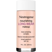 Neutrogena Nourishing Long Wear Liquid Makeup Foundation with Sunscreen