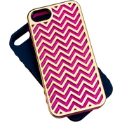Tech Candy Metal Effects Herringbone 3 pc. Case Set for iPhone 5, 5S