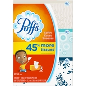 Puffs Basic Facial Tissues 3 pk.