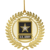 ChemArt U.S. Army Logo Ornament