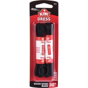 Kiwi Classic Waxed Round 30 in. Dress Laces 2 pk.