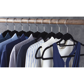 Simply Perfect 35 Non-Slip Velvet Suit Hangers and 15 Bonus Hooks