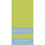 Sensations 54 x 108 in. Plastic Lined Tablecover