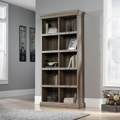 Sauder Barrister Lane Tall Bookcase, Salt Oak Finish