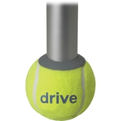 Drive Medical Walker Rear Tennis Ball Glides with Additional Glide Pads, 1 Pair