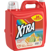 XTRA Liquid Laundry 255 oz. Fresco Scentsations Calypso Fresh