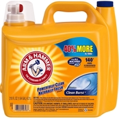 Arm & Hammer Clean Burst Scent Liquid Laundry Detergent 210 Oz.