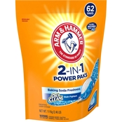 Arm & Hammer Plus OxiClean 2-in-1 Power Paks 62 ct.