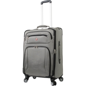 SwissGear Zurich Pewter Upright Spinner