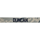 Embroidered Air Force ABU Nametape with Velcro