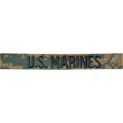 USMC Woodland MARPAT Branch of Service Tape