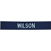Embroidered Coast Guard Ripstop Blue Nametape