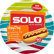Solo 9 in. Heavy Duty Paper Plates 94 Pk.