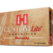 Hornady Custom Lite .270 Win 120 Gr. SST Low Recoil, 20 Rounds