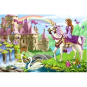 Melissa & Doug Fairy Tale Castle Floor Puzzle - 48 pc.