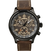 Timex Men's Expedition Analog Premium Field Chronograph Watch 49905