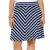 Lauren Ralph Lauren Plus Size Striped Jersey Skirt