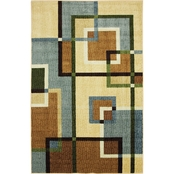 Mohawk Home Overlapping Squares Area Rug