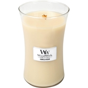 WoodWick Vanilla Bean Hearthwick Flame Candle