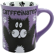 Enesco Our Name is Mud Catffeinated Mug