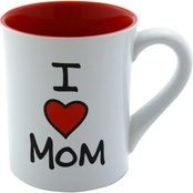 Enesco Our Name is Mud I Heart Mom Mug