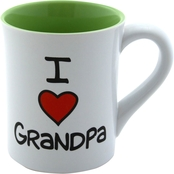 Enesco Our Name is Mud I Heart Grandpa Mug