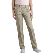 Dickies Little Girls Slim Straight Stretch Pants