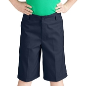 Dickies Boys Flex Waist Flat Front Shorts