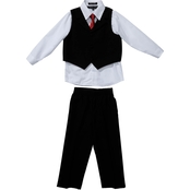 Andrew Fezza Little Boys/Boys Vested 4 pc. Set