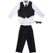 Andrew Fezza Little Boys/Boys Vested 4 pc. Tux Set