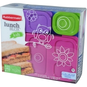 Rubbermaid Lunchblox Kids Flat Kit