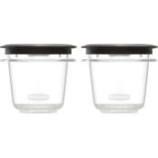 Rubbermaid Premier 0.5 Cup Food Storage Container 2 Pk.