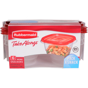 Rubbermaid .5 Cup Takealongs 6 Pk.