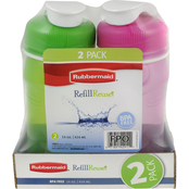 Rubbermaid 14 oz. Chug Bottle 2 Pk.
